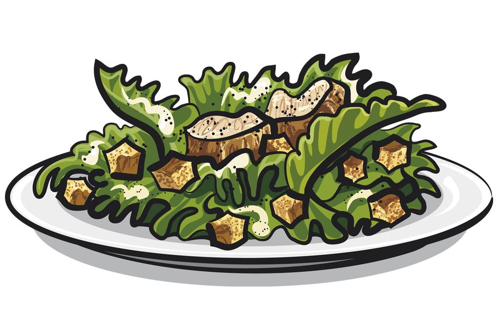 Bernay Recette facile salade César