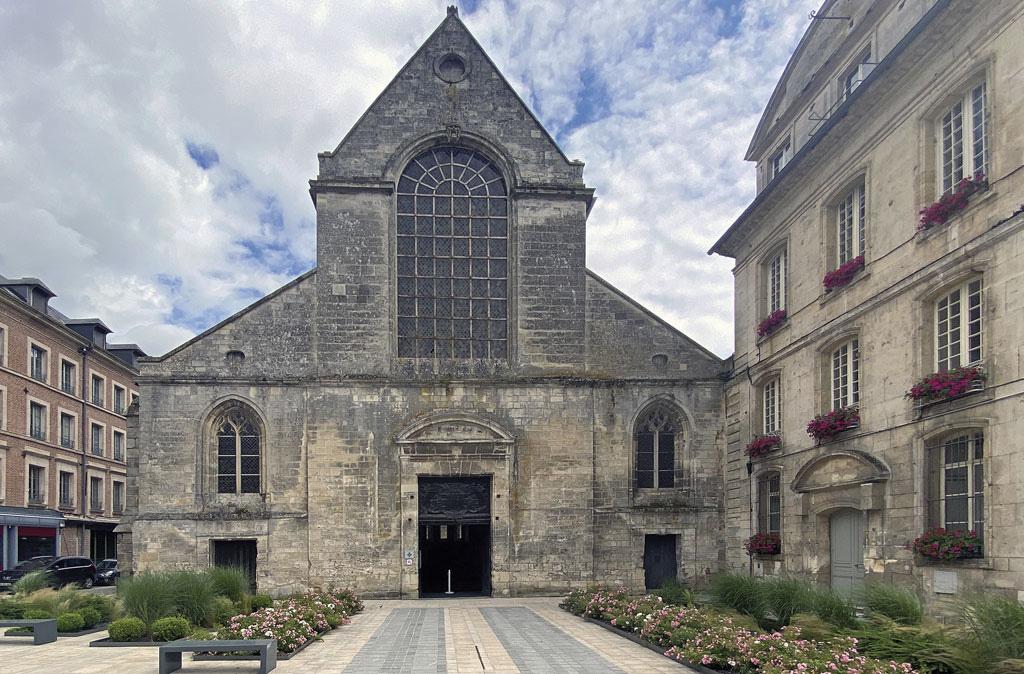 Eglise abbatiale de Bernay 27 Normandie